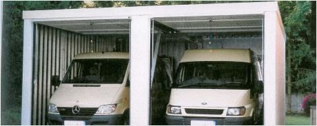 Fertiggarage als Doppelgarage