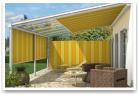 Innenbeschattungssystem für Terrassendächer