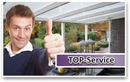 Baugenehmigung & Lieferung Terrassendächer